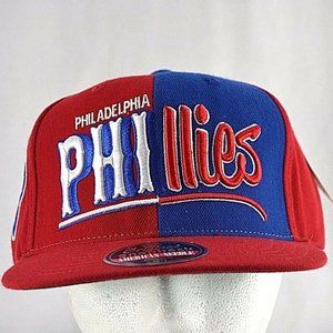 Philadelphia Phillies Red/Blue Baseball Cap Snapba